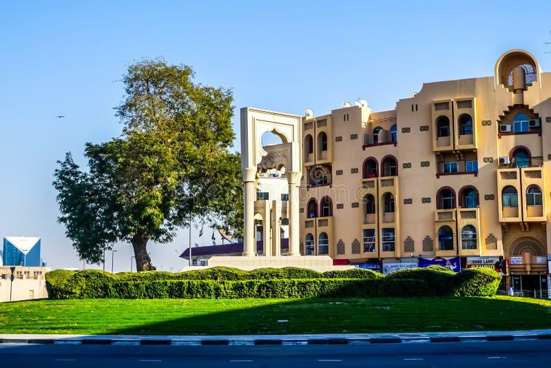 Dubaï Al Fahidi Roundabout photos libres de droits