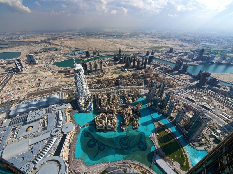 Dubaï de ci-avant photos stock