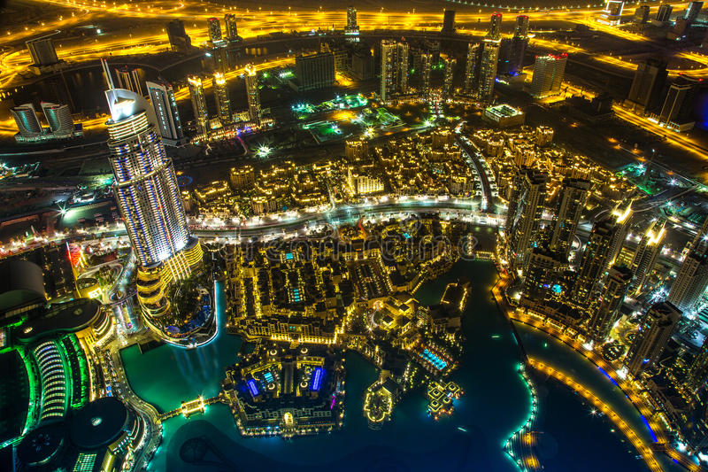 Dubaï du centre. Est, architecture des Emirats Arabes Unis photos stock