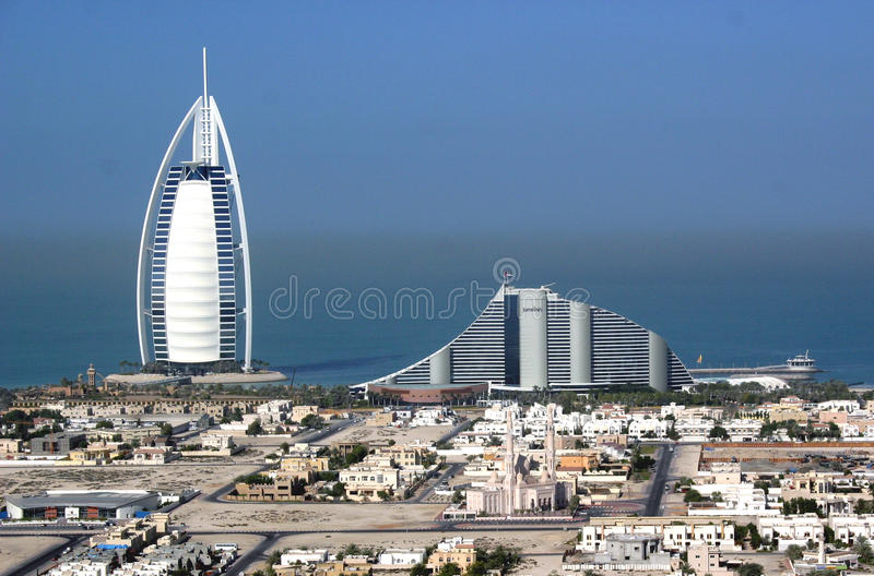 Dubaï Jumeirah image libre de droits