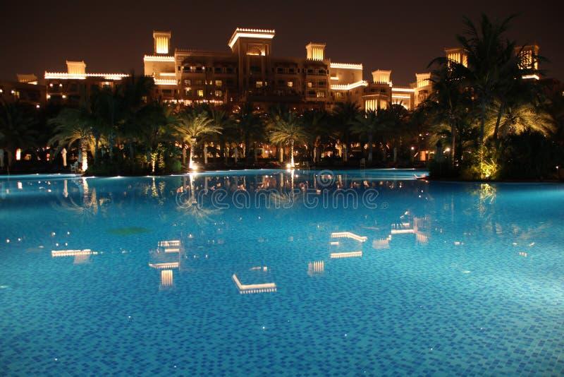 Dubaï * Madinat Jumeirah * regroupement de Qasr d'Al photos stock