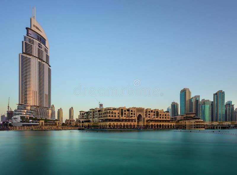 Dubaï Souq Al Bahaar pendant l'après-midi photos libres de droits