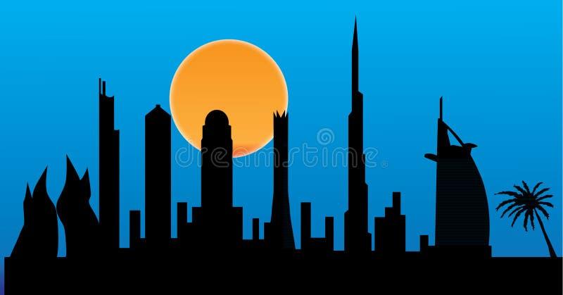 Download Dubai stock illustration. Image of exterior, design, east - 19910923