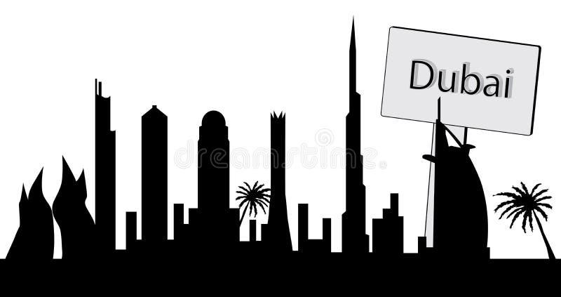 Dubai ilustração stock