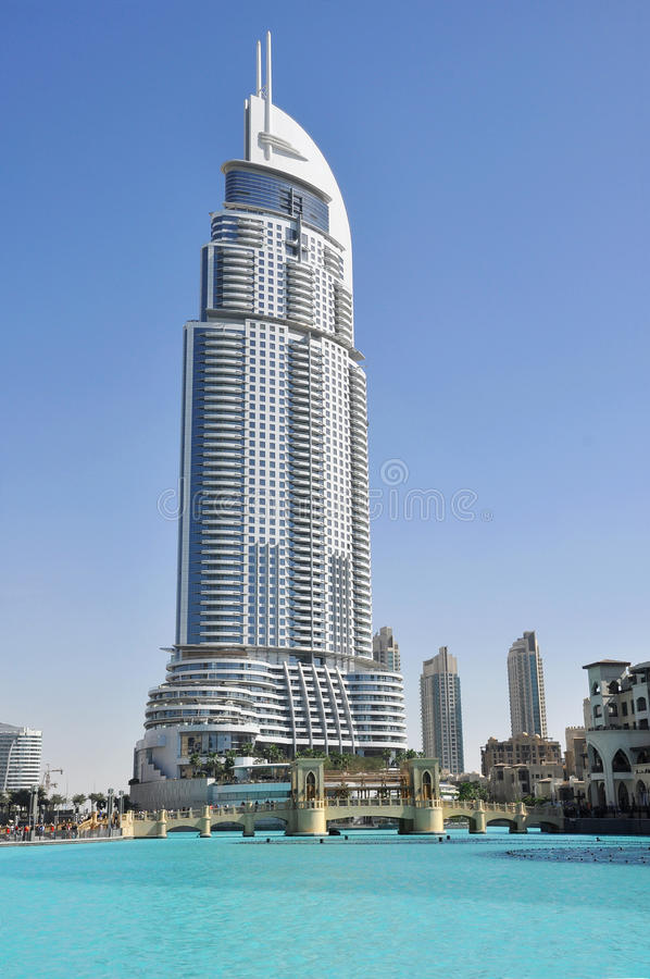 Download Dubai, Address Hotel Royalty Free Stock Photos - Image: 22785008