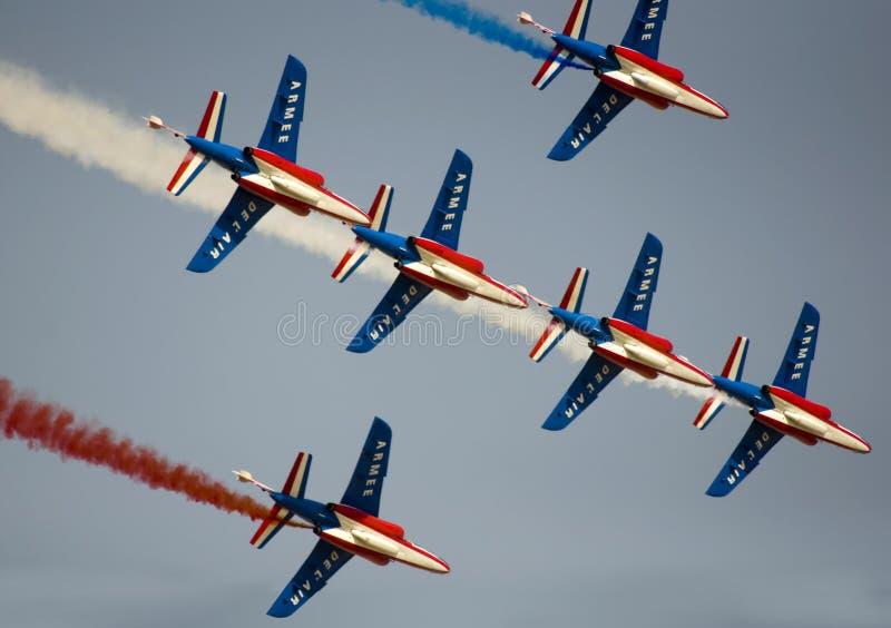 Dubai Airshow Display royalty free stock image