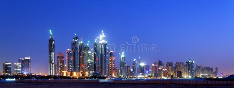 Dubai-Antennen-Skyline