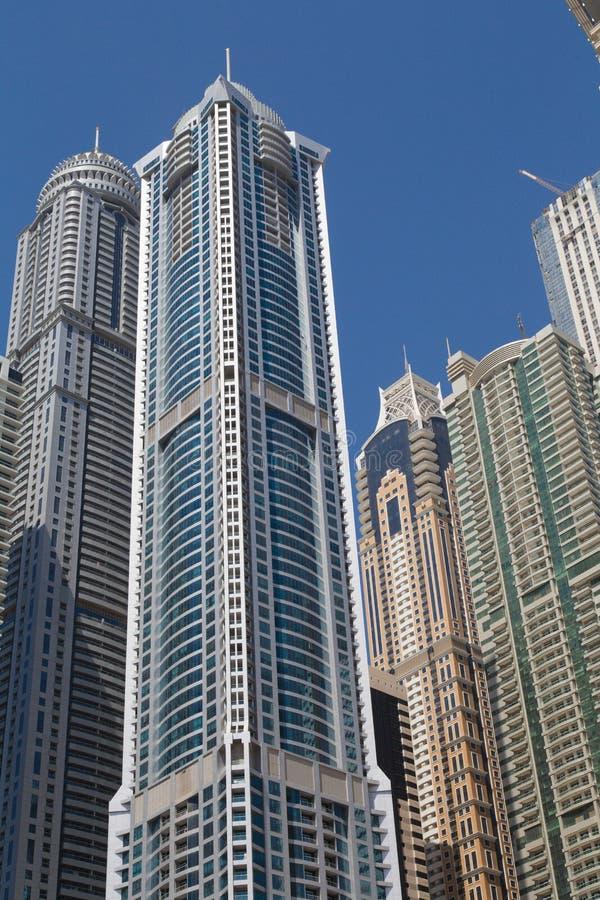Dubai 2012 arabskich gromadzkich emiratów maszerują marina fotografię brać jednoczącą fotografia royalty free
