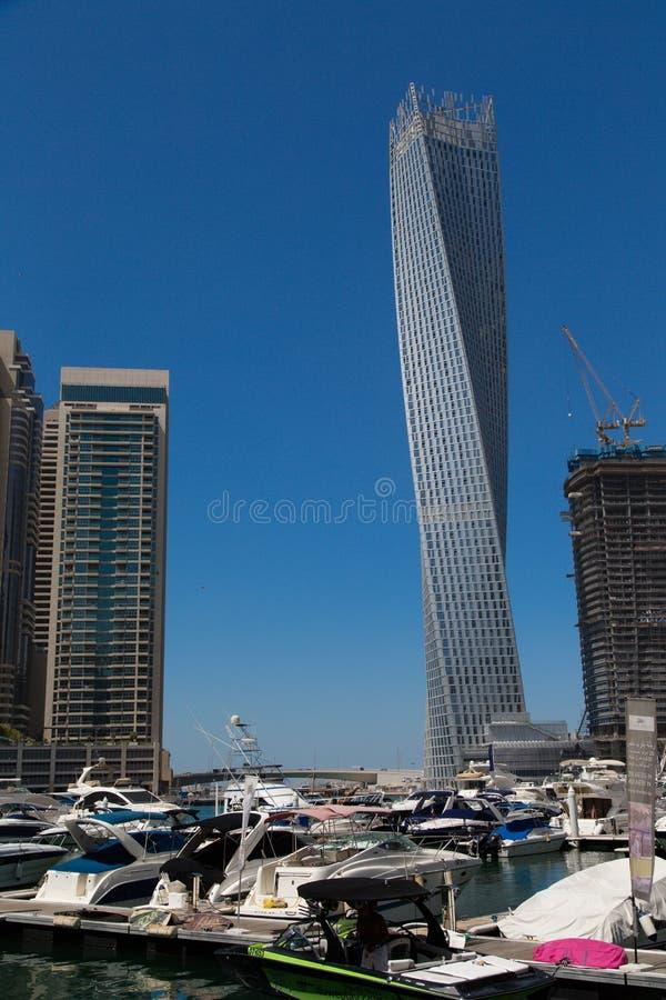 Dubai 2012 arabskich gromadzkich emiratów maszerują marina fotografię brać jednoczącą fotografia stock