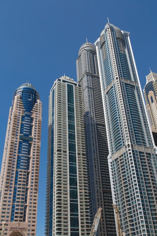 Dubai 2012 arabskich gromadzkich emiratów maszerują marina fotografię brać jednoczącą zdjęcie stock