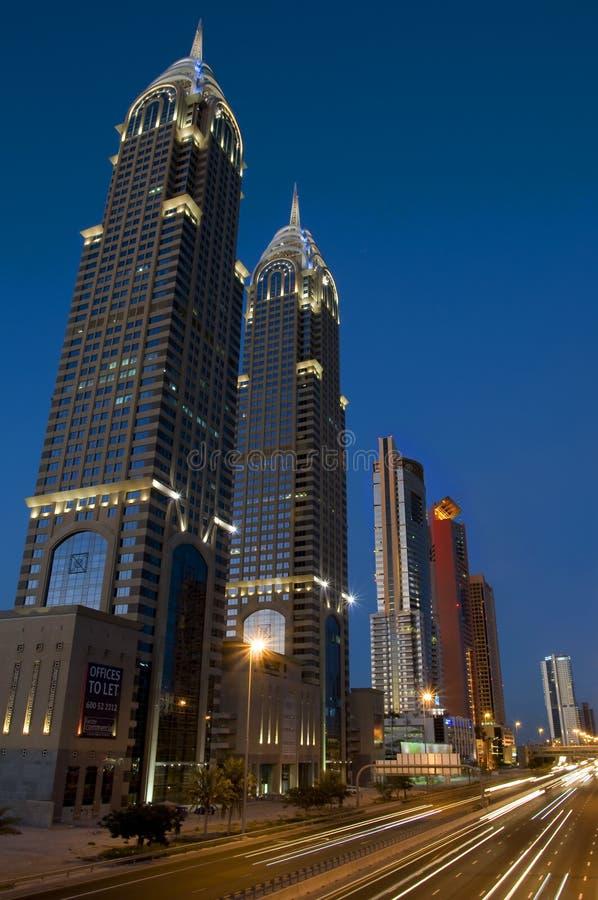 Dubai Buildings Editorial Photography