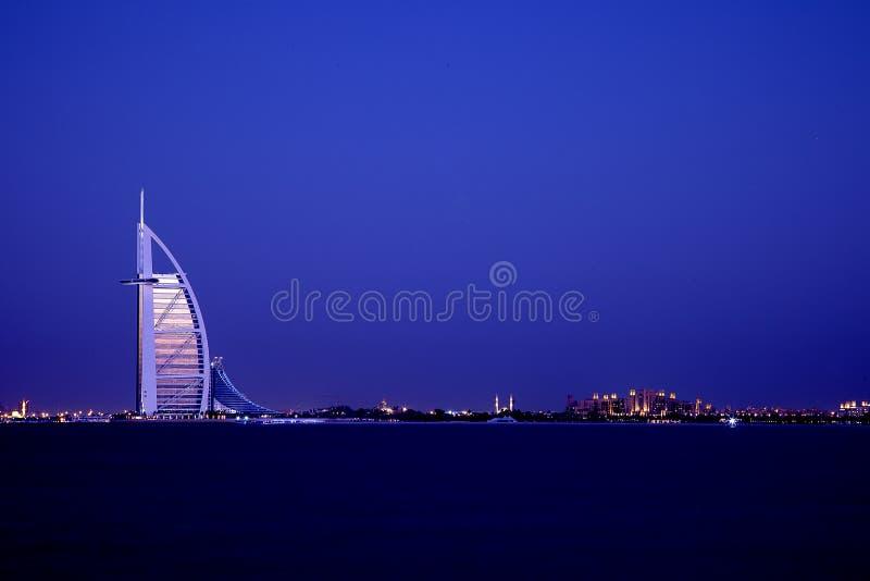 Dubai burj Al Arab stock image