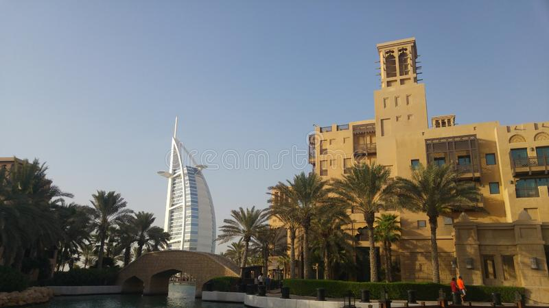 Dubai Burj Al Arab royalty free stock photo
