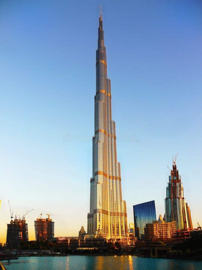 Dubai, Burj Khalifa stock image