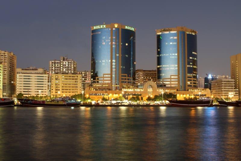 Dubai Creek stock photos