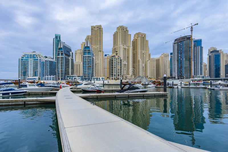 Dubai Creek lizenzfreie stockbilder
