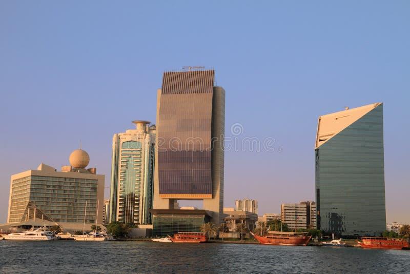 Dubai Creek, Emirats Arabes Unis images stock