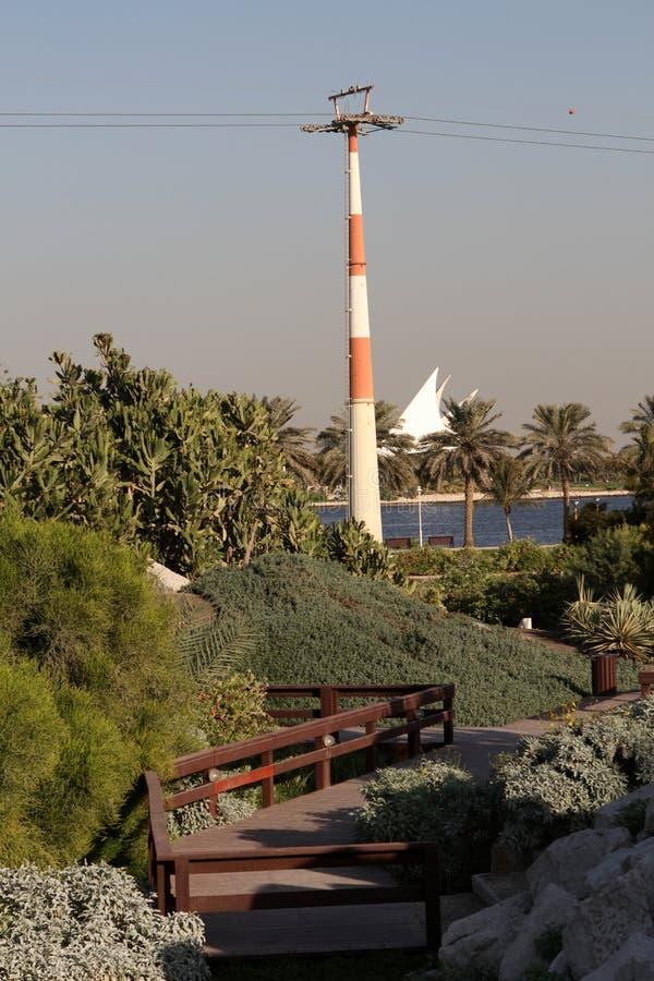 Dubai Creek Park royalty free stock images