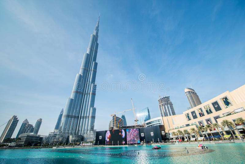 Dubai - 10 de enero de 2015 foto de archivo libre de regalías
