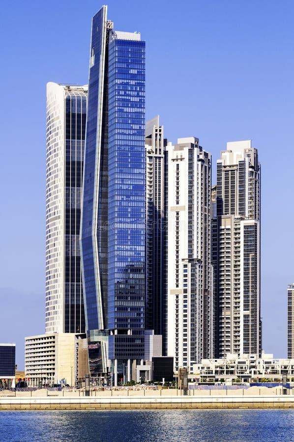 Dubai Downtown royalty free stock photo