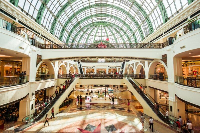 dubai emiratów centrum handlowe obraz stock