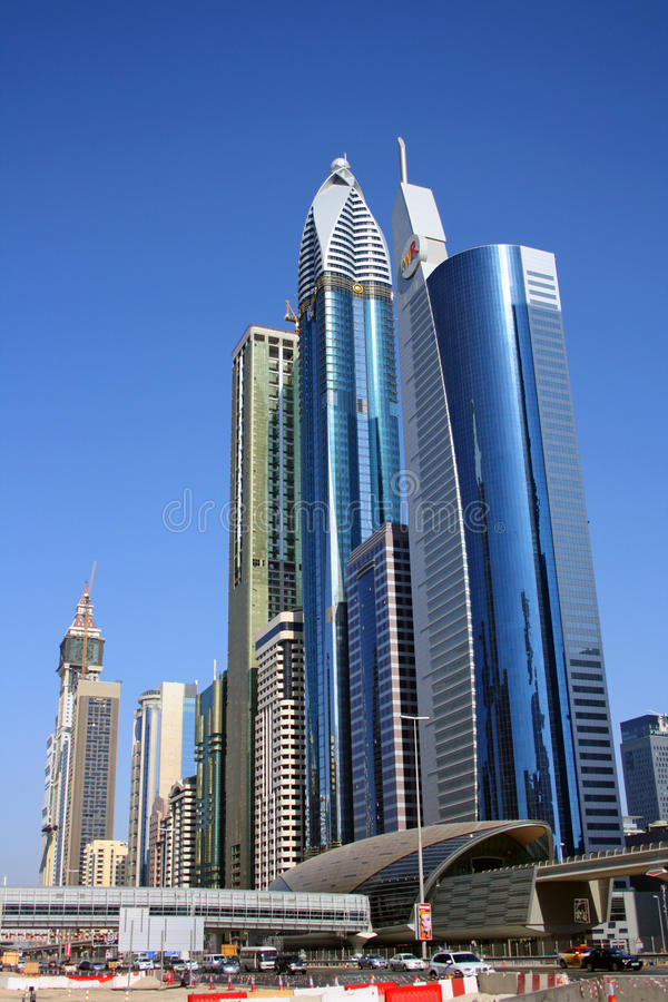 Download Dubai financial district editorial photography. Image of asian - 23268342