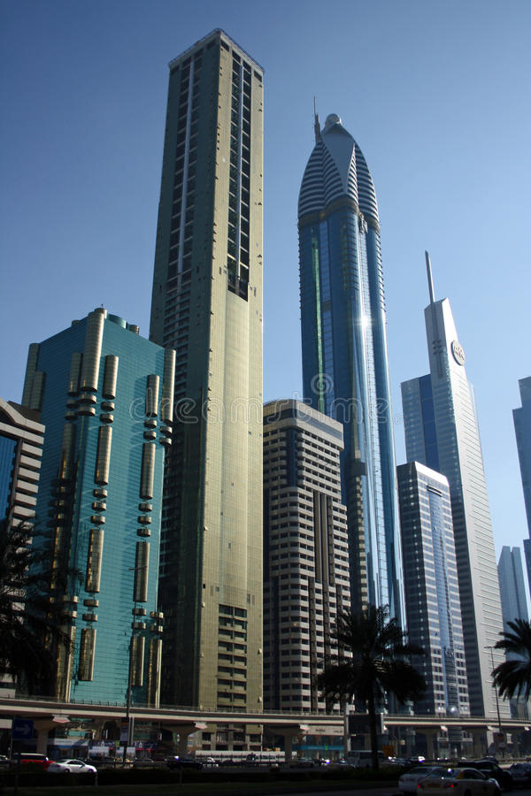 Download Dubai financial district editorial photo. Image of metro - 23321091