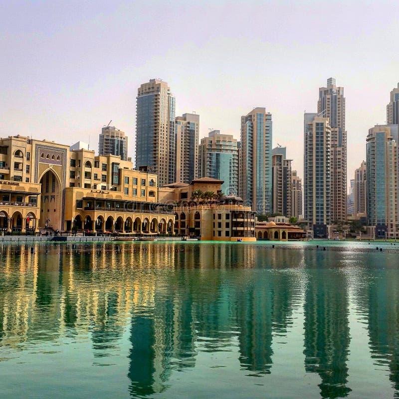 Dubai galleria arkivbild