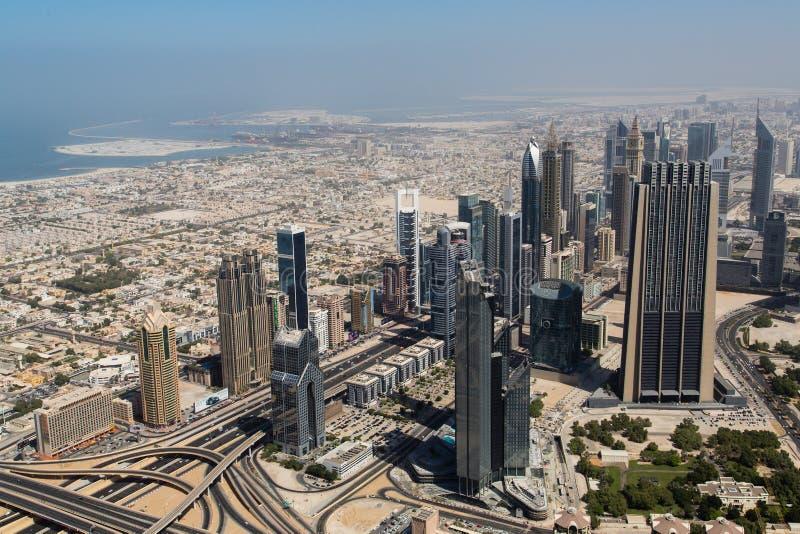 Dubai galleriasikt royaltyfri bild