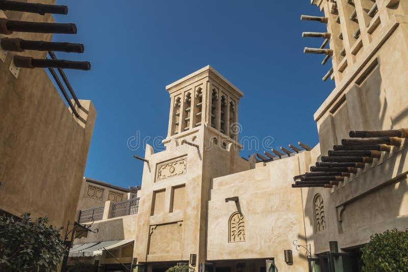 dubai Il museo di sceicco Saeed Al Maktoum fotografia stock libera da diritti