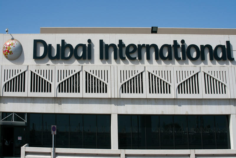 Download Dubai International Airport Editorial Photo - Image: 20085906