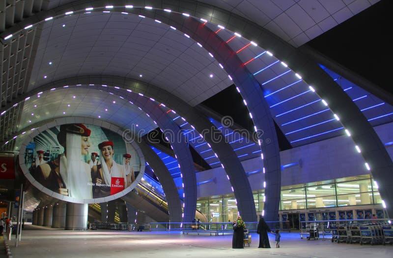 Dubai International-Flughafenabfertigungsgebäude 3 lizenzfreie stockbilder