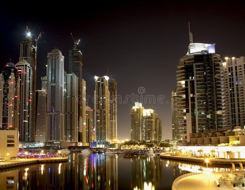Dubai-Jachthafen stockfotografie