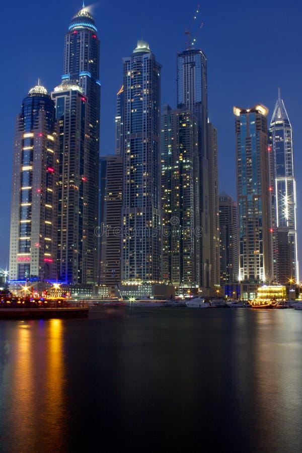 Dubai-Jachthafen - Dubai Vereinigte Arabische Emirate stockbild