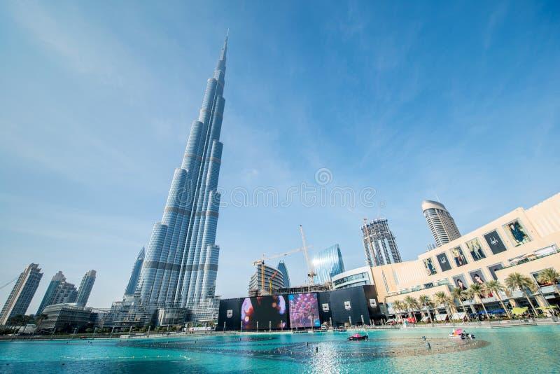 Dubai - JANUARY 10, 2015 royalty free stock photo
