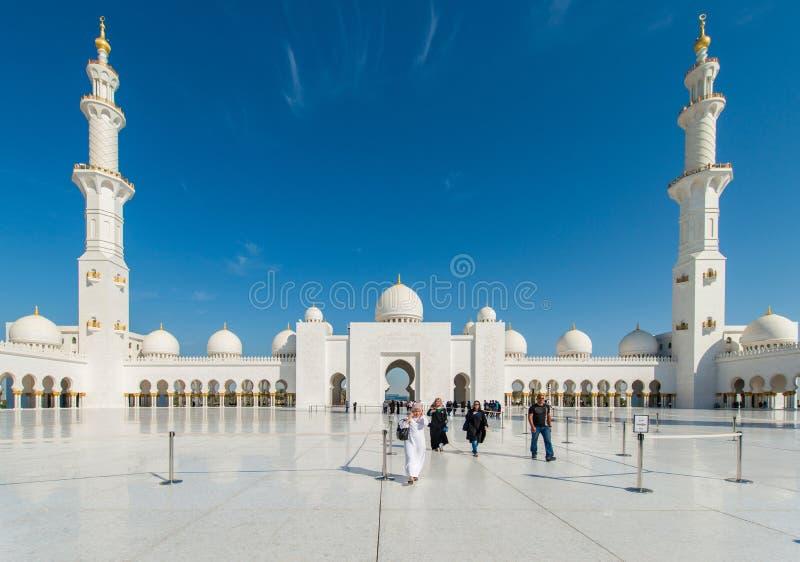 Dubai - JANUARY 9, 2015 stock photo