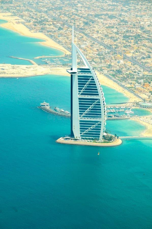 Dubai landskap royaltyfri bild
