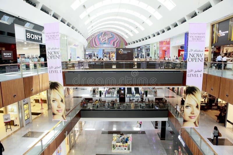 Dubai mall stock photography