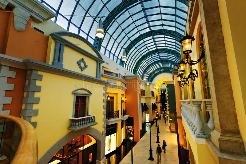 Dubai Mall of the Emirates stock photo