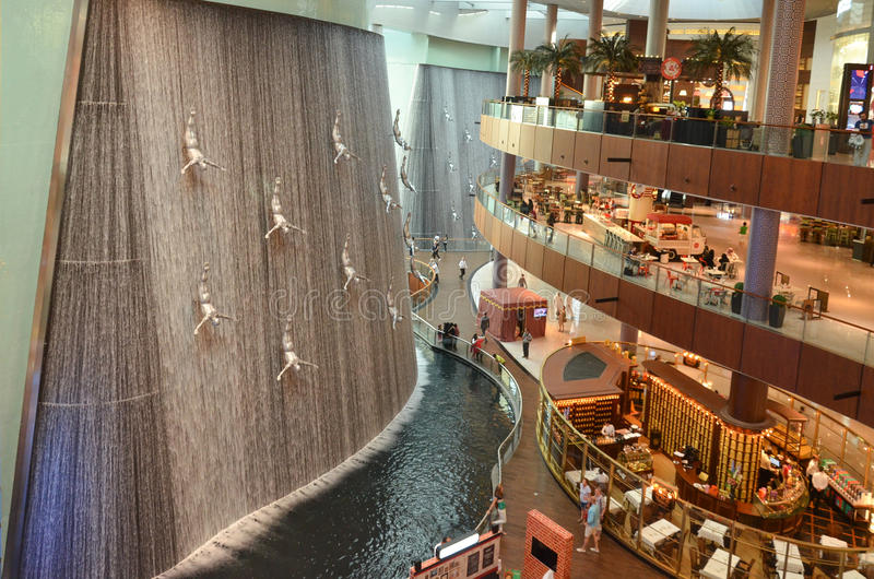 Dubai Mall royalty free stock photos