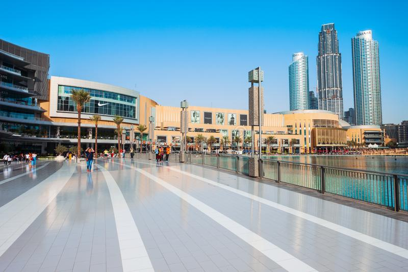 Dubai Mall in Dubai, UAE editorial stock image  Image of