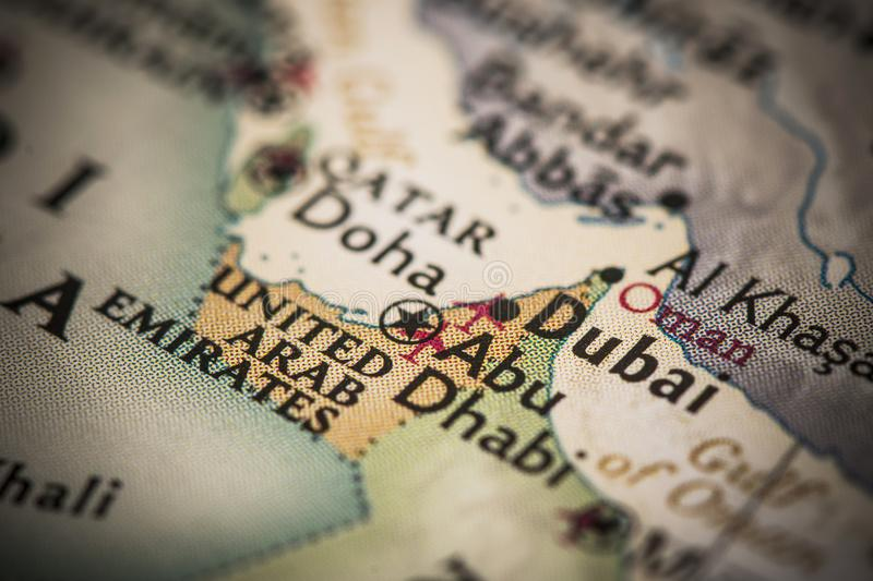Dubai on map stock image image of atlas geography 110211115 download dubai on map stock image image of atlas geography 110211115 gumiabroncs Image collections