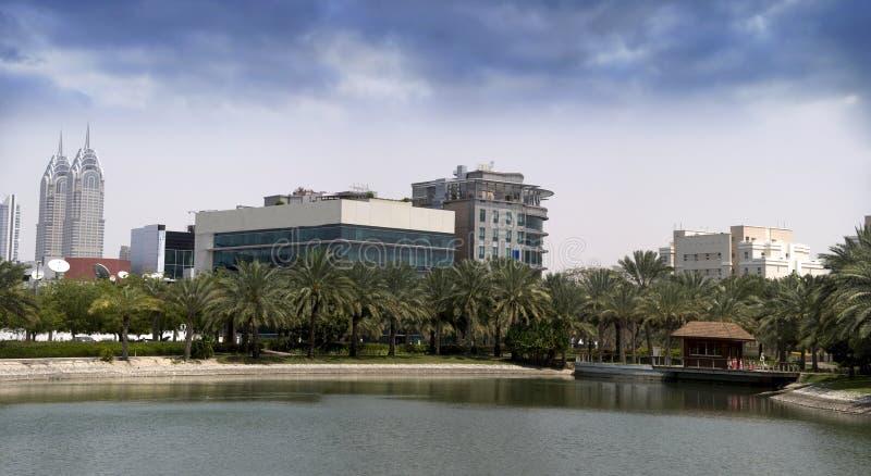 Dubai Media City Phase 1 stock image