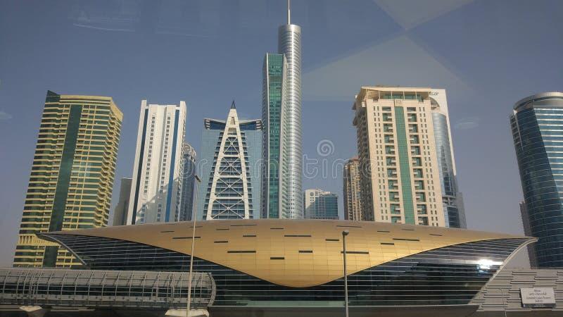 Dubai Metro Station royalty free stock photo