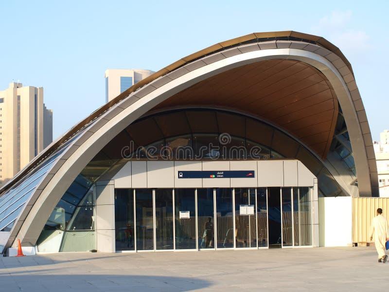 Download Dubai Metro Union Square stock photo. Image of destination - 12275948