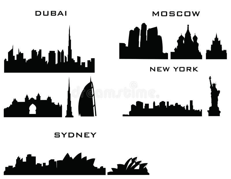 Dubai moscow sydney new york