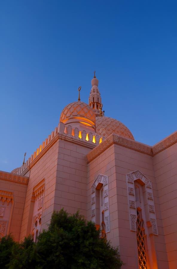 Dubai Mosque 3 stock photo