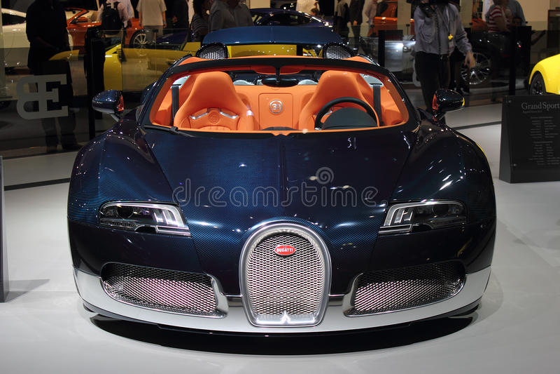 Download Dubai Motor Show NOVEMBER-14-2011 Bugatti Display Editorial Stock Image - Image: 22030054