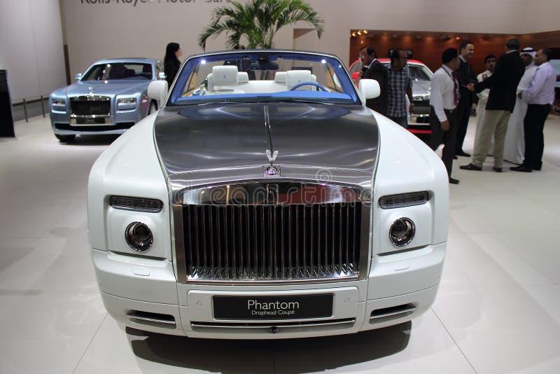 Dubai Motor Show NOVEMBER-14-2011 Rolls Royce stock photography
