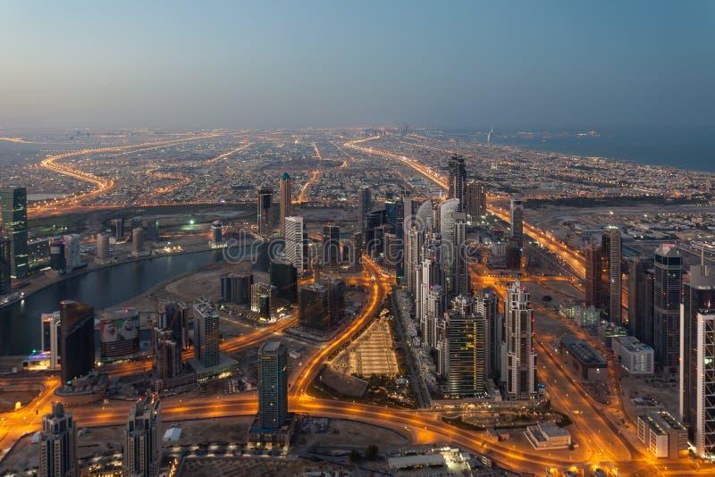 Download Dubai na manhã imagem de stock editorial. Imagem de dubai - 65576509
